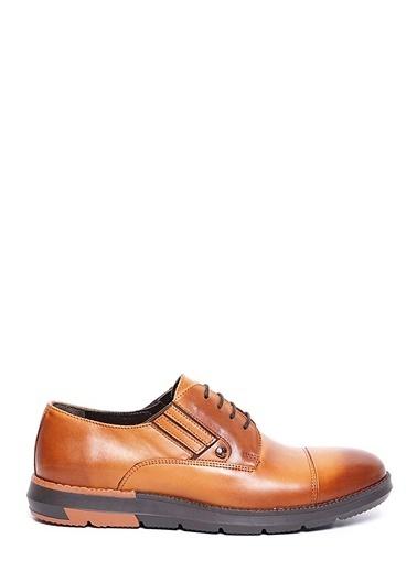Cacharel Bağcıklı Klasik Ayakkabı Taba